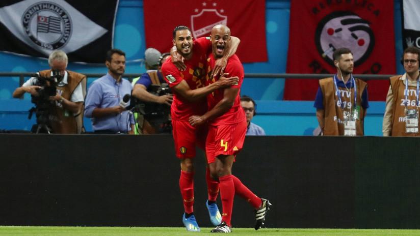Bélgica elimina a Brasil