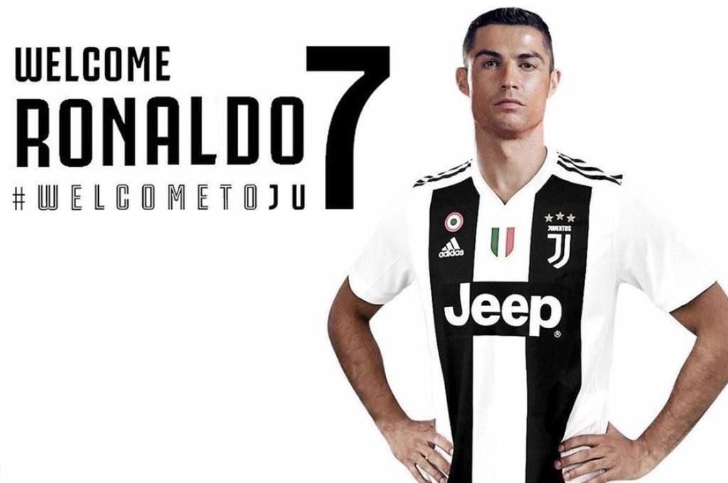 Juventus Presenta a Cristiano Ronaldo